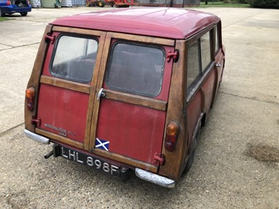 Lot 5 - 1969 Austin Morris Mini-Minor MkII Countryman, Registration LHL 898F