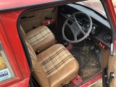 Lot 6 - 1981 Austin Mini Clubman automatic, Registration YNO 237X