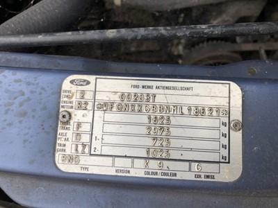 Lot 7 - 1991 Ford Sierra Estate , Registration H399 OPU