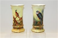 Lot 1079 - Pair of good quality limited edition Coalport...