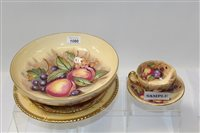 Lot 1080 - Selection of Aynsley Orchard Gold items -...