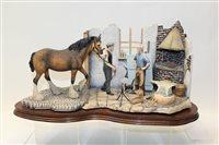 Lot 1084 - Border Fine Arts limited edition sculpture -...