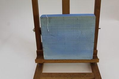 Lot 1713 - Contemporary, English School, oil on wood block - The London Eye, 20cm x 23cm, unframed
