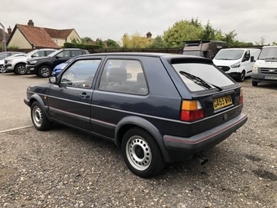 Lot 18 - 1989 Volkswagen Golf GTi, 3 door hatchback, 1.8 litre, 5 speed manual, Reg. G465 WRW, finished in Helios Blue, with grey cloth interior, MOT until September 2022. This 35,000 mile GTi has been in t...